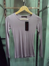 Dark Gray Fitted Top