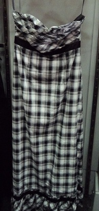 Black & White Checked Dress